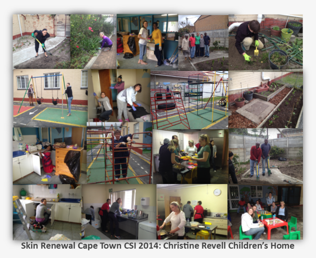 Christine Revell childrens home Body Renewal charity day