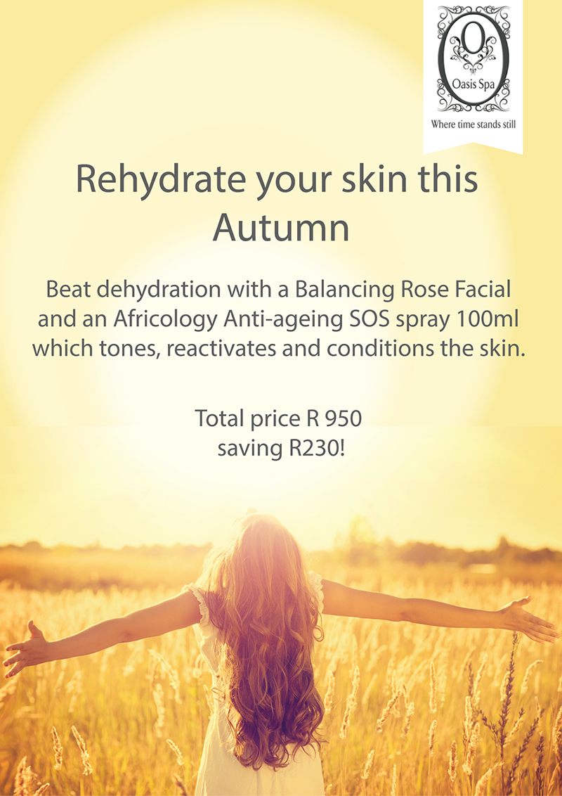 Oasis Spa march promotion Body Renewal