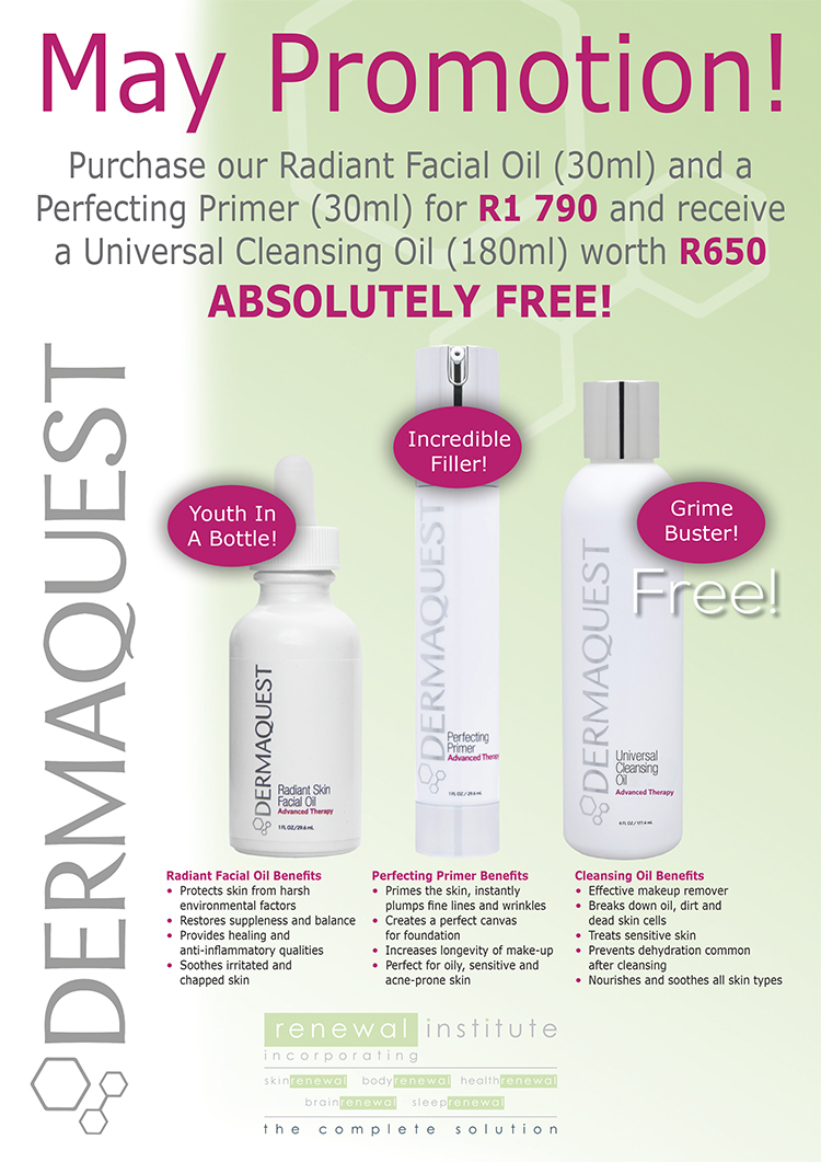 Dermaquest May Promotion Body Renewal